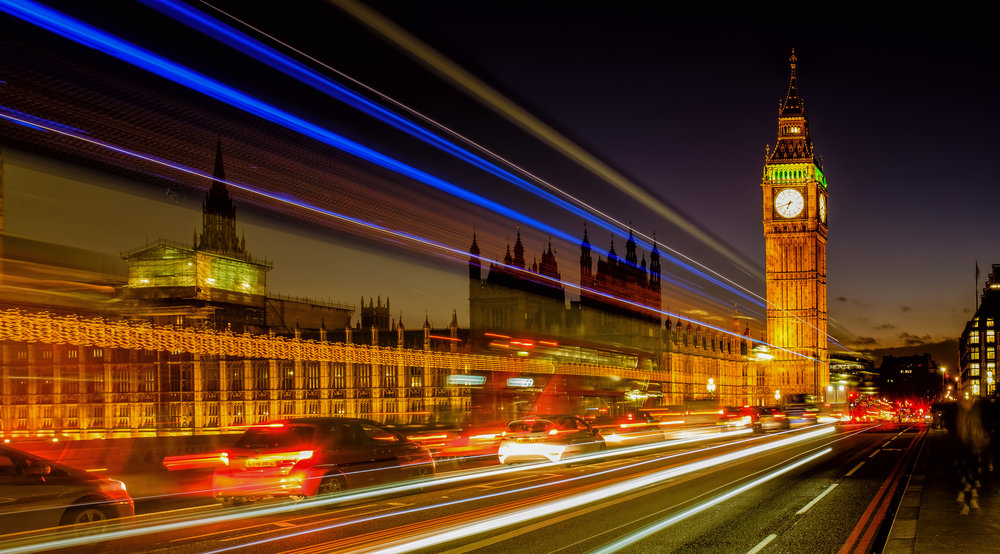 London Light Trails - Fuji X100T, 8sec. @ f/9.0, ISO 200, 23mm - Something of a cliche, but still fun to shoot!