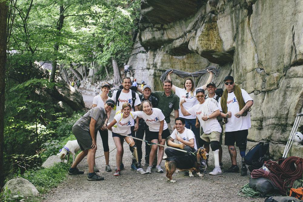 Rock Climbing in the Gunks -