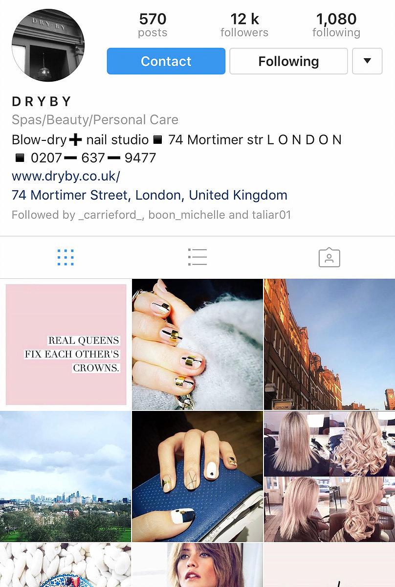 Dryby Instagram