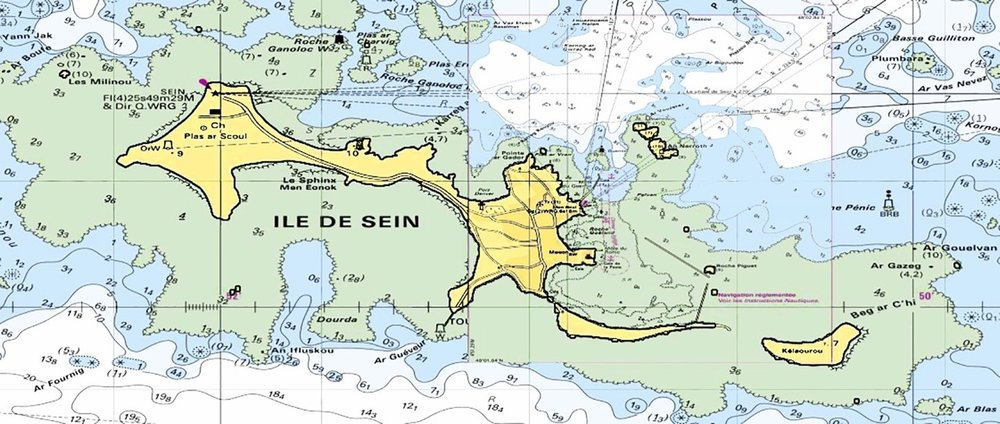 Map of Sein