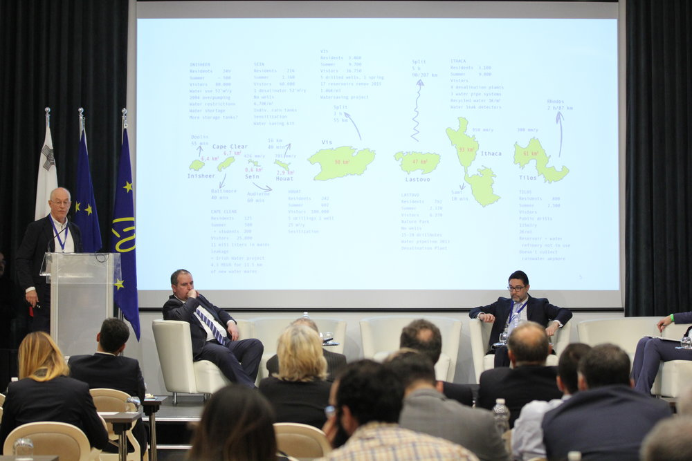 The 8 WASAC islands presented on Malta