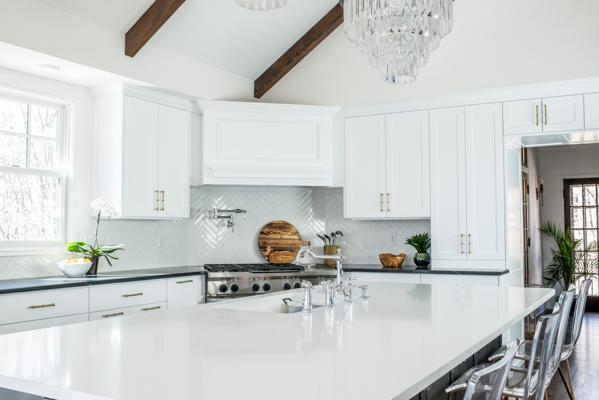 Modern Tudor Kitchen Scout Nimble - Tudor kitchen remodel