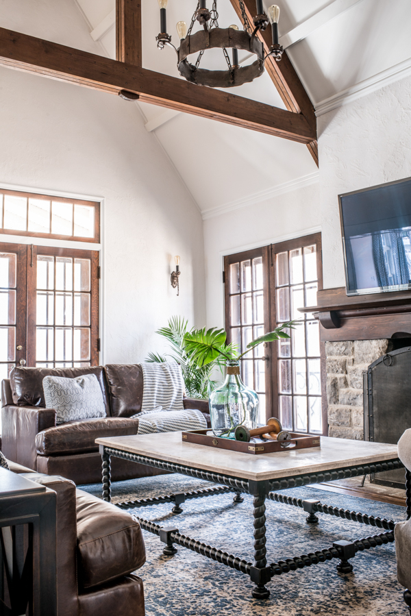 Modern Tudor | Living Room — Scout & Nimble