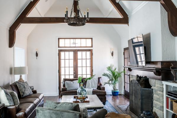 Modern Tudor Living Room Remodel Scout Nimble 4.