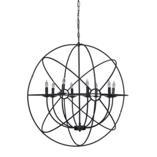 derince iron chandelier small