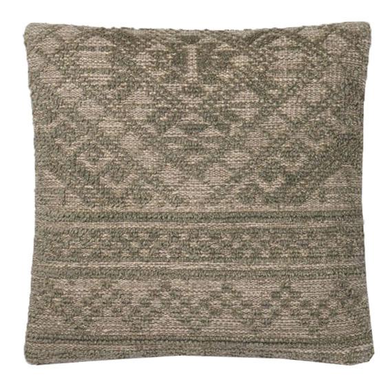 Green Cotton & Wool Pillow | Scout & Nimble