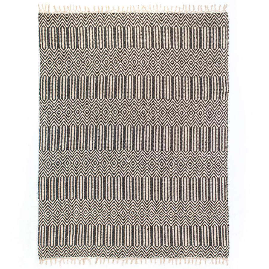 black cotton woven rug.jpg