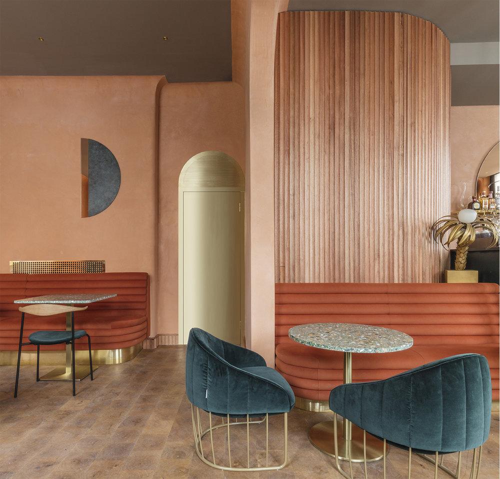 Design   Stella Concept  (Omar's Restaurant in London)