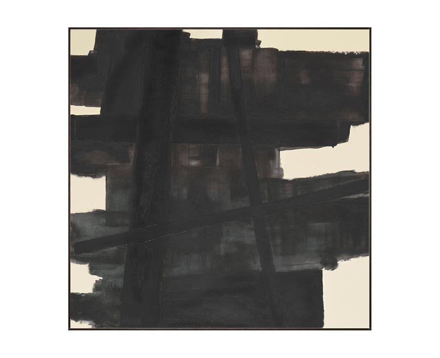 Black Lofts Abstract Art