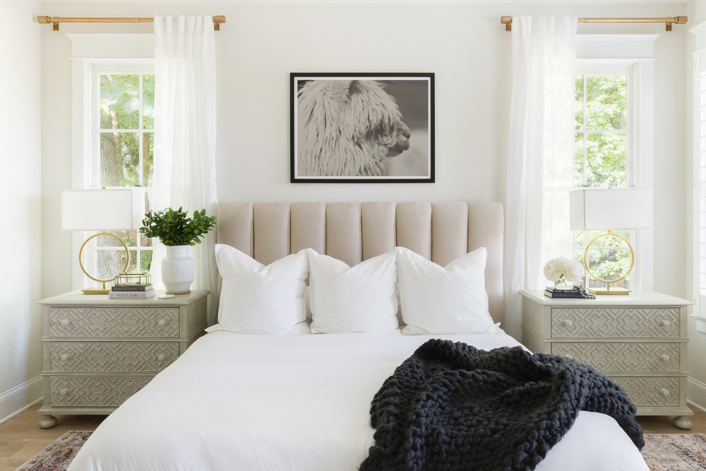 Master Suite from the  Hilltop Home Project  | Photography  Alyssa Rosenheck