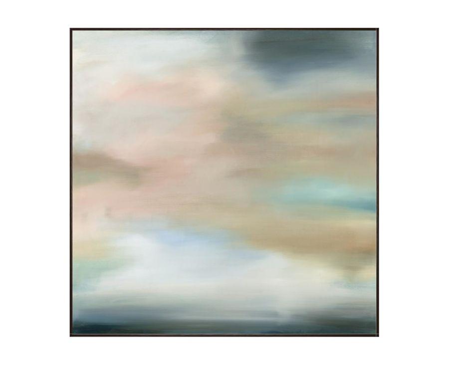 Misty Morning Framed Canvas Artwork