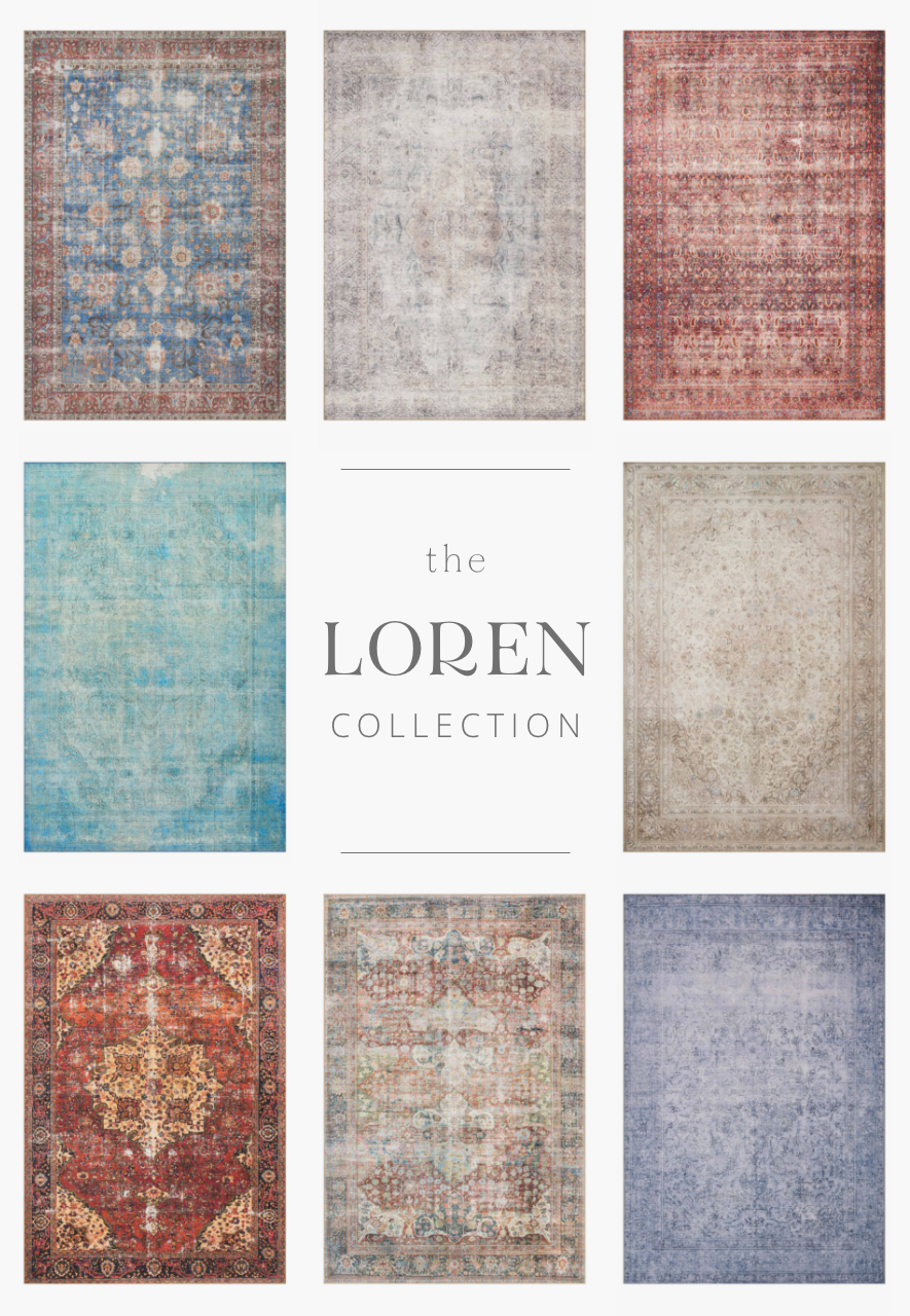 Timeless and classic, the Loren Collection offers vintage hand-knotted looks at an affordable price. Created in Turkey, these printed designs provide a textured effect by portraying every single individual knot on a soft polyester base.