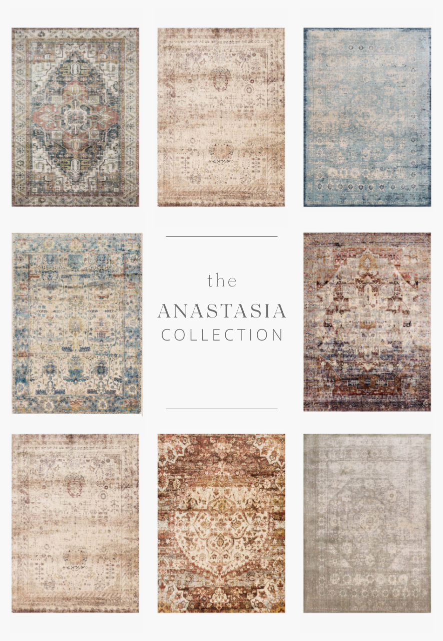 Ornate patterns distressed and full of character are modernized by illuminating color-ways in the Anastasia collection. The intricate detail, luster of colors, and unbeatable price point establish the value of this outstanding collection.
