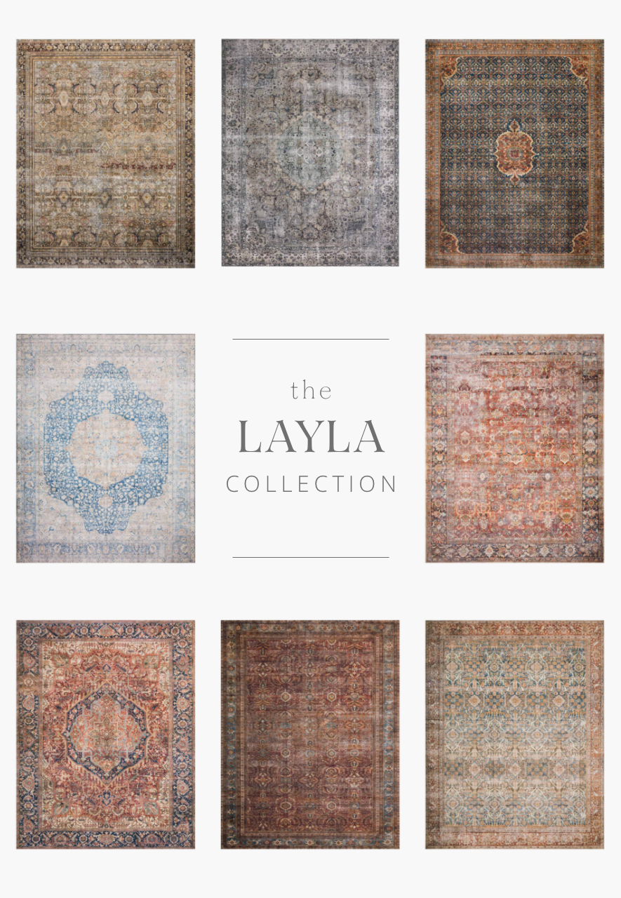 The Layla Collection is traditional and timeless, with a beautiful lived-in design that captures the spirit of an old-world rug. This traditional power-loomed rug is crafted in China of 100% polyester with a classic and sophisticated color palette and subtle patina.