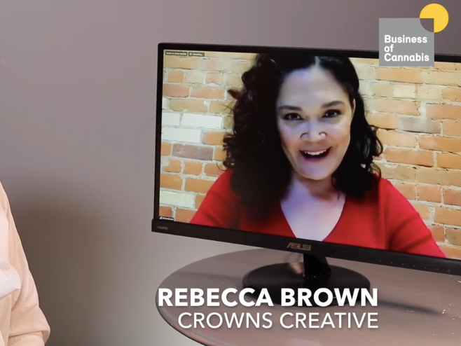 Rebecca Brown discussed marketing with the Business of Cannabis
