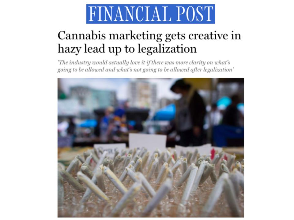Crowns CEO Rebecca Brown in the Financial Post
