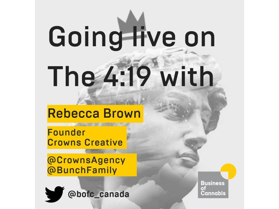 Crowns CEO Rebecca Brown joins the 4:19 podcast