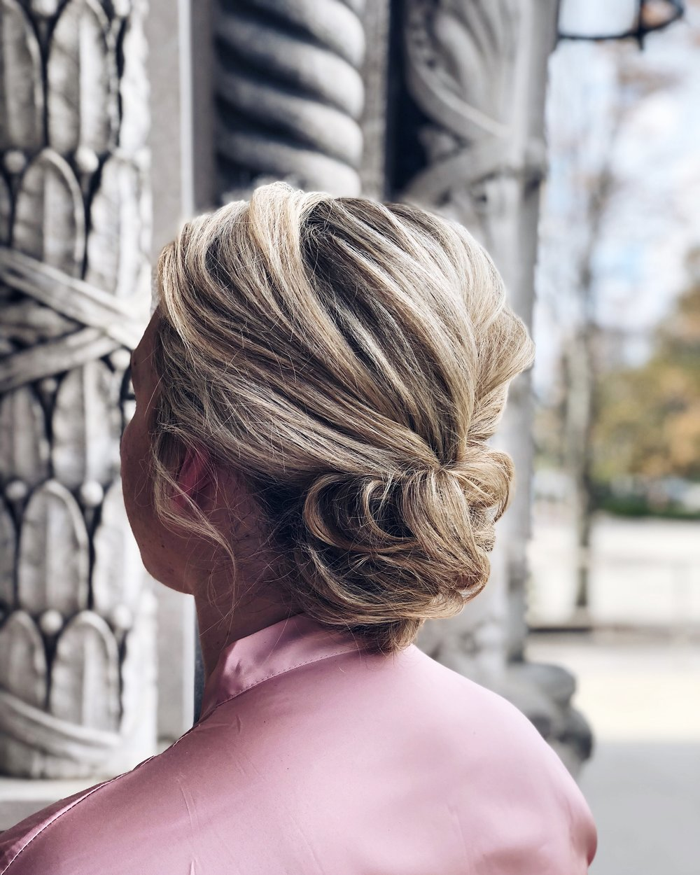 Off Site Services - Bridal Style: $90+Event Style: $90+Blow Out: $53+Dry style: $45+Makeup Application: $70+Airbrush Makeup Application: $95+Strip Lashes: $15+*Dry styles include, only: curling, braids, straightening, top knot, and ponytails.