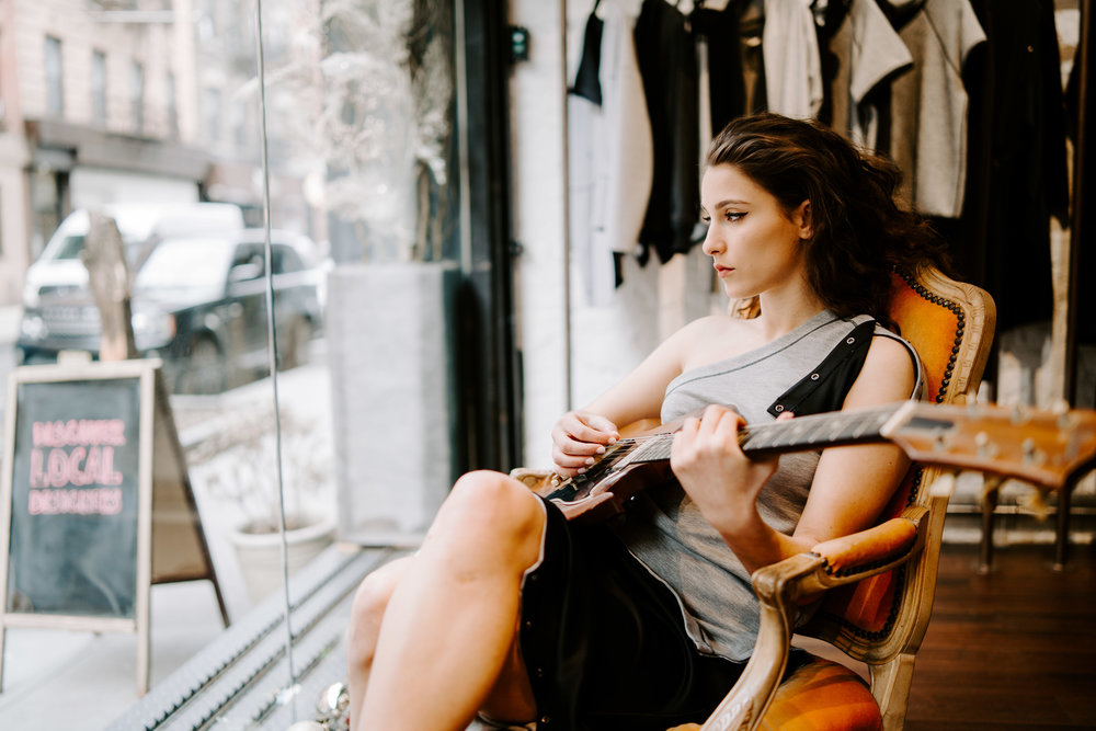 WINDOW SEAT - ... I'm not looking back I'm just sitting in the window seat... ❤️🎶The #newvibe #moment @evangeliamusic is on our #playlist photographed by @thegregmak at our favorite #soho #boutique #newline @oknospacesoho