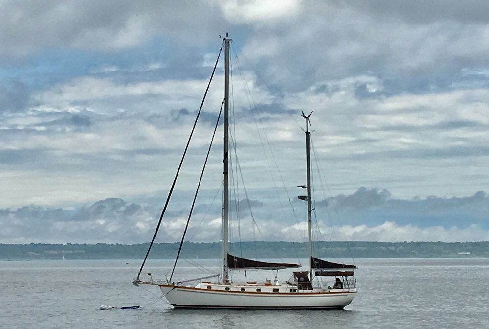 Day Sail and Luncheon aboard 43' Ketch Flood Tide - Enjoy a private yacht excursion on Narragansett Bay with Captain Pete Flood for four.Luncheon and beverages catered by Stoneacre.Estimated Value: $800. Bidding starting at: $400