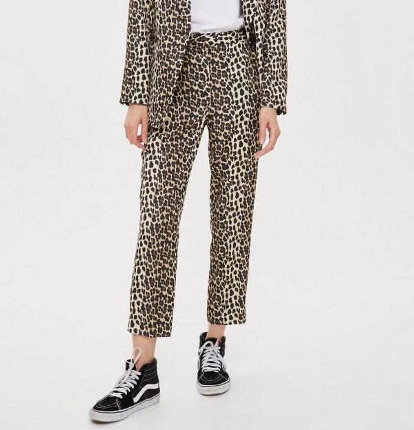 Topshop Leopard Print Trousers - £45