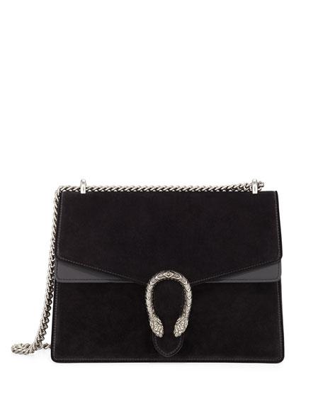 Gucci Dionysus Suede Black Bag