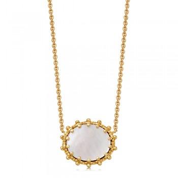 Astley Clarke Floris Mother of Pearl Pendant