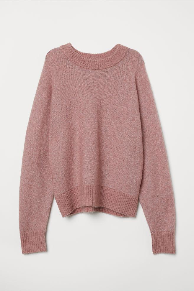 H&M Mohair Knit Pink Jumper