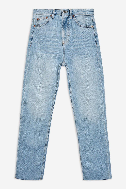 Topshop Straight Leg Jeans