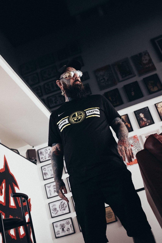 Nicolai Toth - Anarchist Tattoo