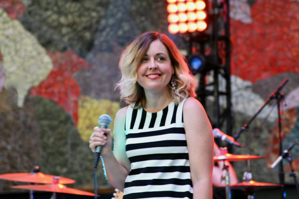 Filthy Friends vocalist Corin Tucker brought her powerhouse vocals to the festival on Friday. One of my favorite performances of the weekend.