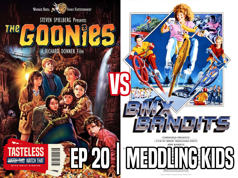 The Goonies vs BMX Bandits