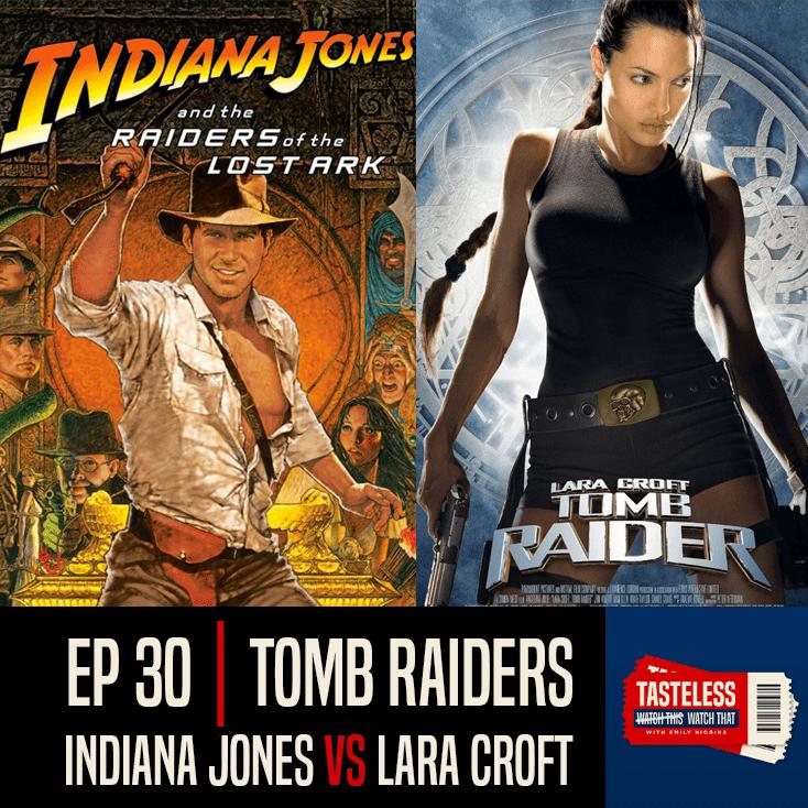 Indiana Jones and the Raiders of the Lost Ark vs Lara Croft: Tomb Raider