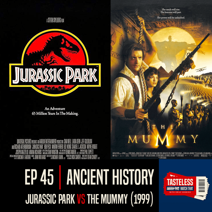 Jurassic Park vs The Mummy