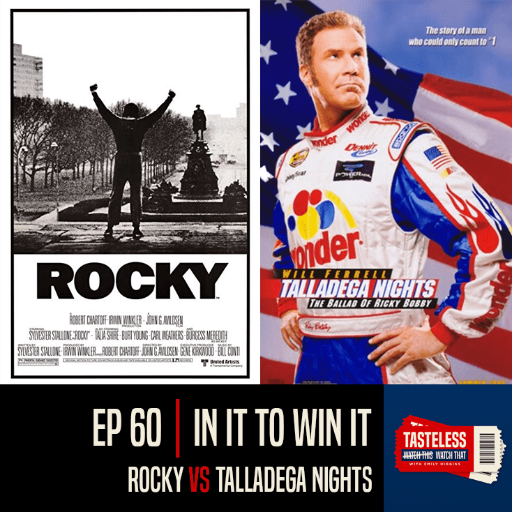 Rocky vs Talladega Nights: The Ballad of Ricky Bobby
