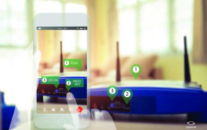 AUGMENTED REALITY POWERED VIDEO ASSISTANCE-BY SIGHTCALL