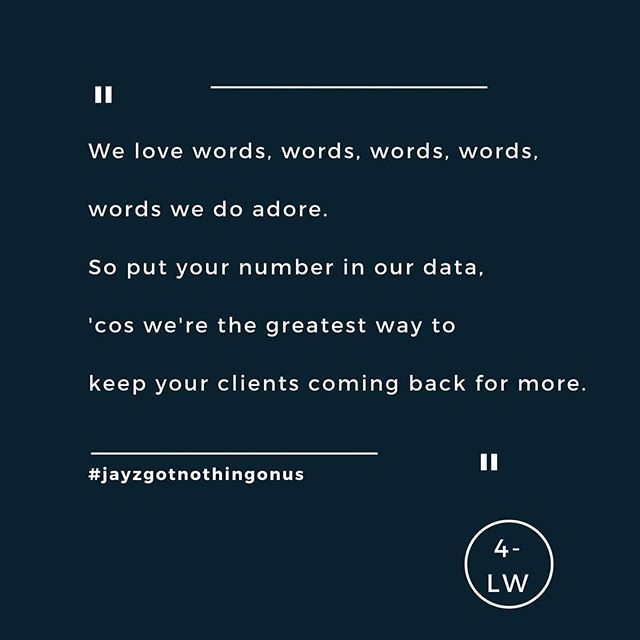 Improving Jay Z. - - - #fourletterword #copywriting #copywriter #amwriting #writing #writersofig #marketing #branding #brands #website #digital #jayz #leeds #yorkshire #leedsbusiness