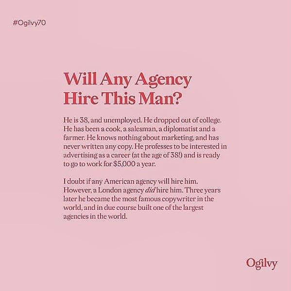 💓Hero💓 - - - #fourletterword #copywriting #copywriter #ogilvy #ogilvy70 #agency #marketing #advertising #goals #branding #brands #business #yorkshire