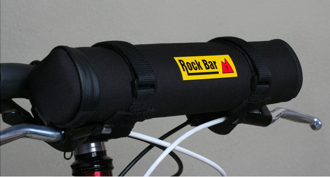 Rock Bar attached to handlebars