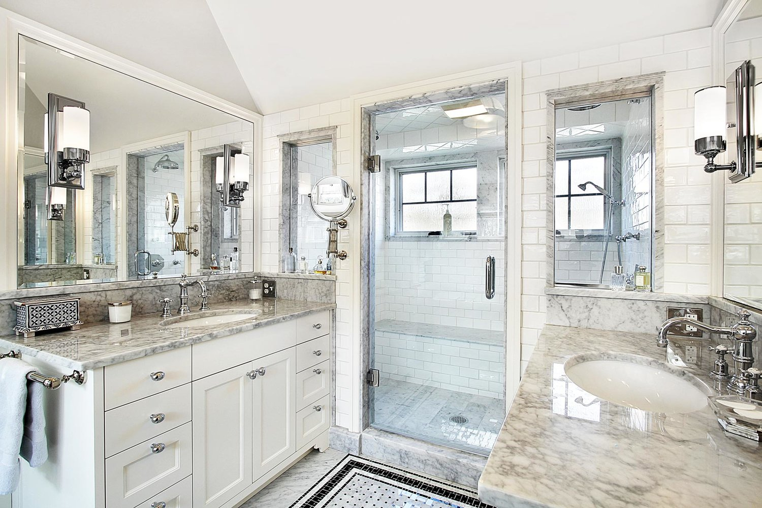 How to Implement Natural Stone into Your Bathroom Design — The Edge ...