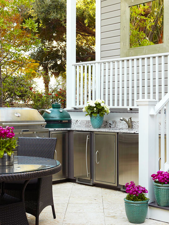 The Best Countertops For Outdoor Kitchens