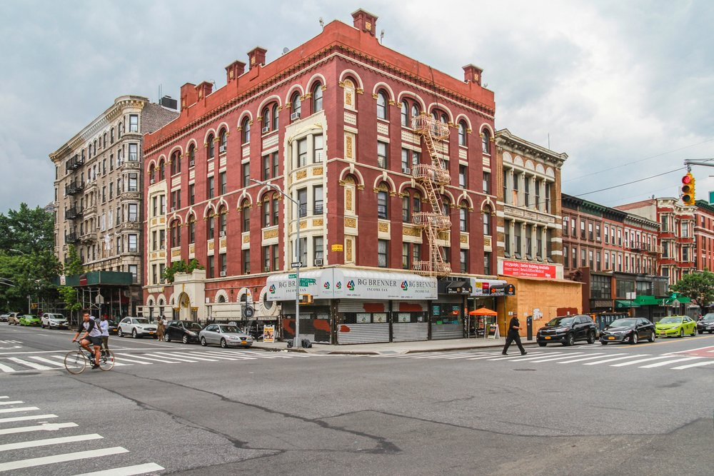 Harlem, because Harlem has a huge number of rent stabilized apartments