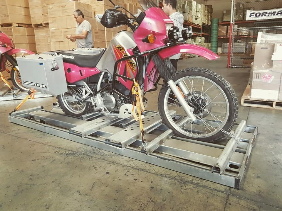 How our bikes are being shipped
