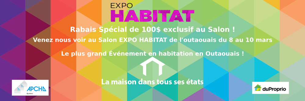 Expo Habitat 2019 Groupe Morel Communications