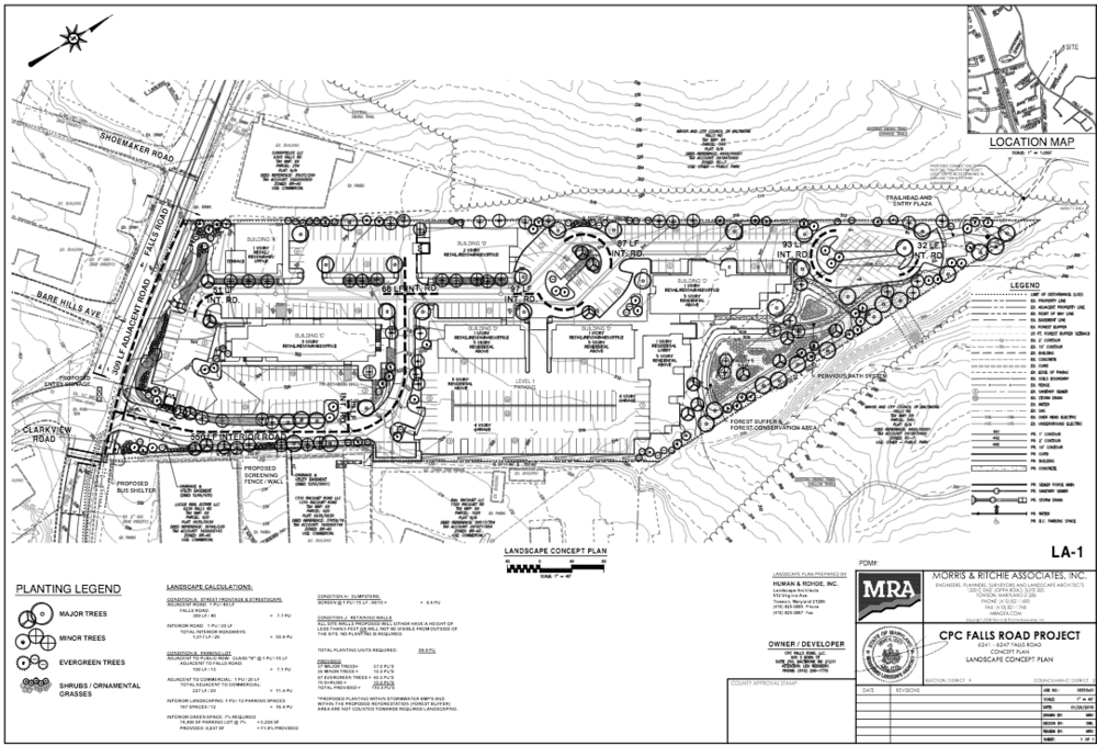 Village of Lake Roland Concept Plan