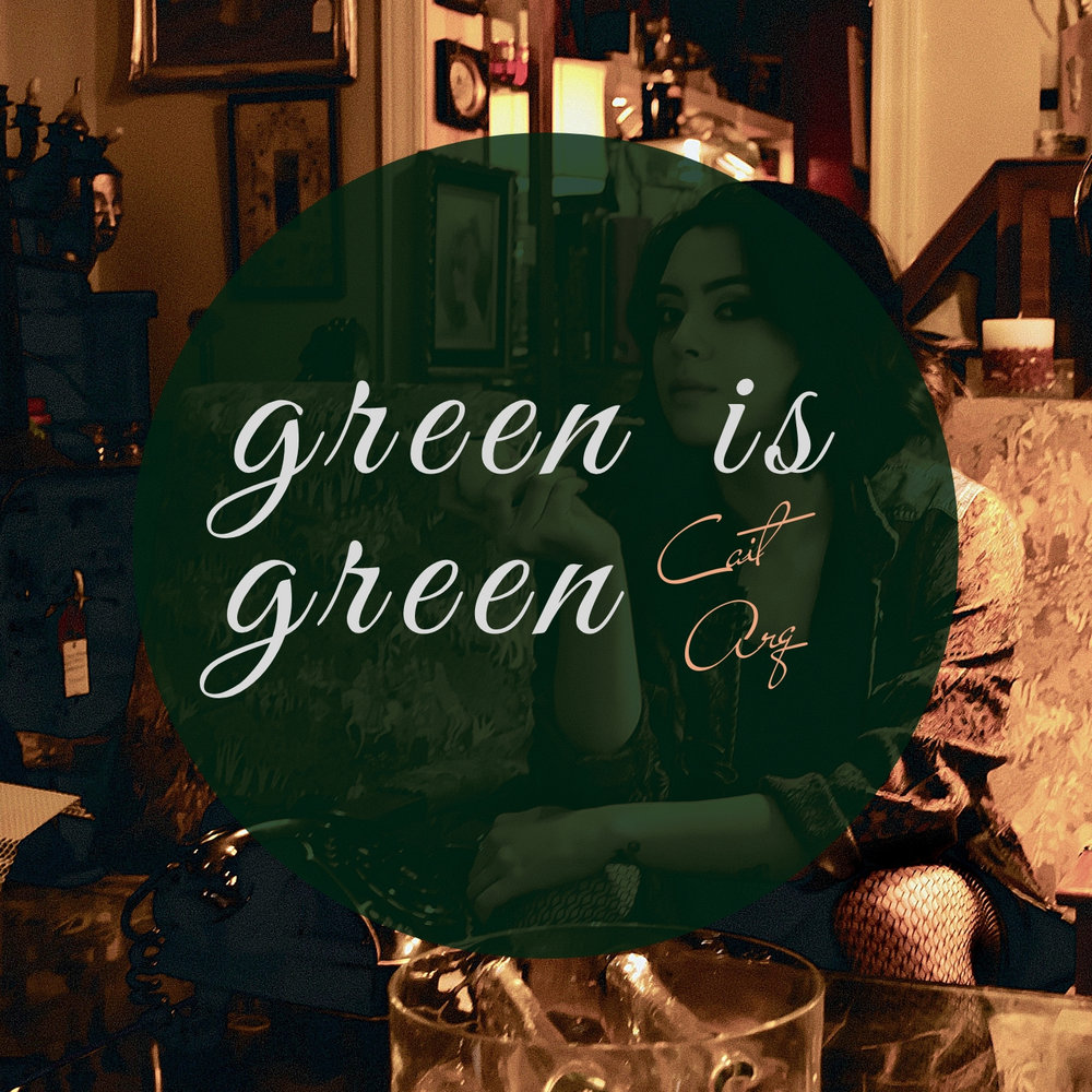 "Debut EP, ""Green is Green"" Out Now - ""A little Norah Jones, a little Sister Sparrow, and a little Jack Johnson, Cait Arq brings us her debut EP ""Green Is Green."" Arq has been crafting poetry since middle school, and has now compiled and set to music 6 pieces, in collaboration with many artists contributing horns and guitars, of the day to day struggles many of us currently face or can remember experiencing…"""