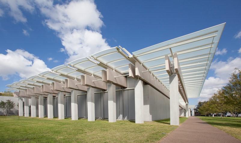 Kimbell Art Museum, Renzo Piano Building, Fort Worth, Texas