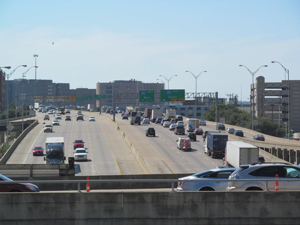 Highway Traffic, Dallas, TX 2015