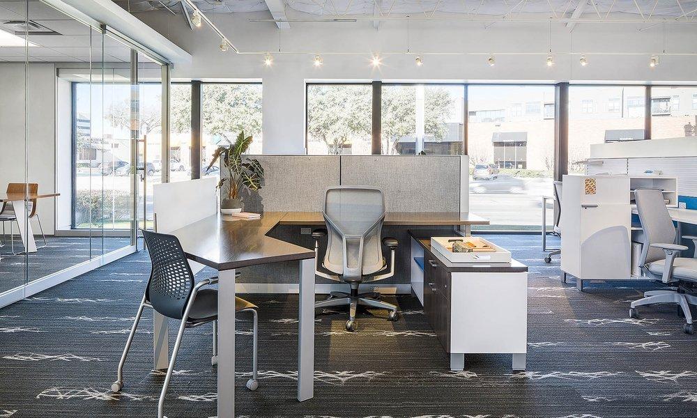 Stride Desking // Allsteel