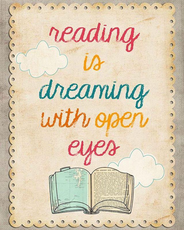 READ OFTEN! #Dream #Read #Grow #Learn